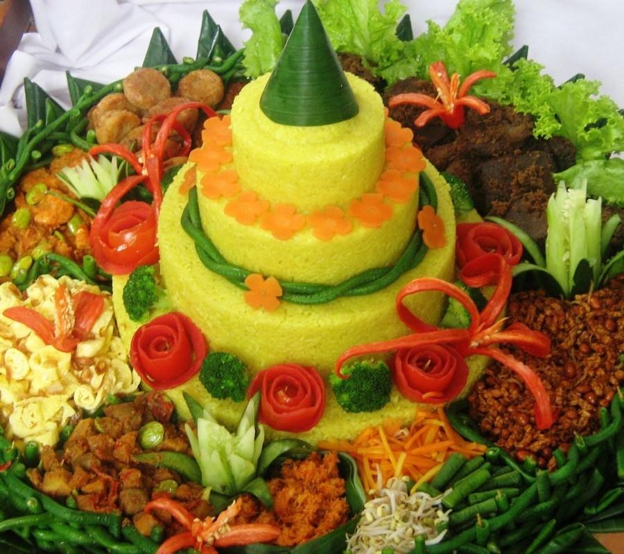 Jenis Jenis Nasi Tumpeng yang ada di Indonesia